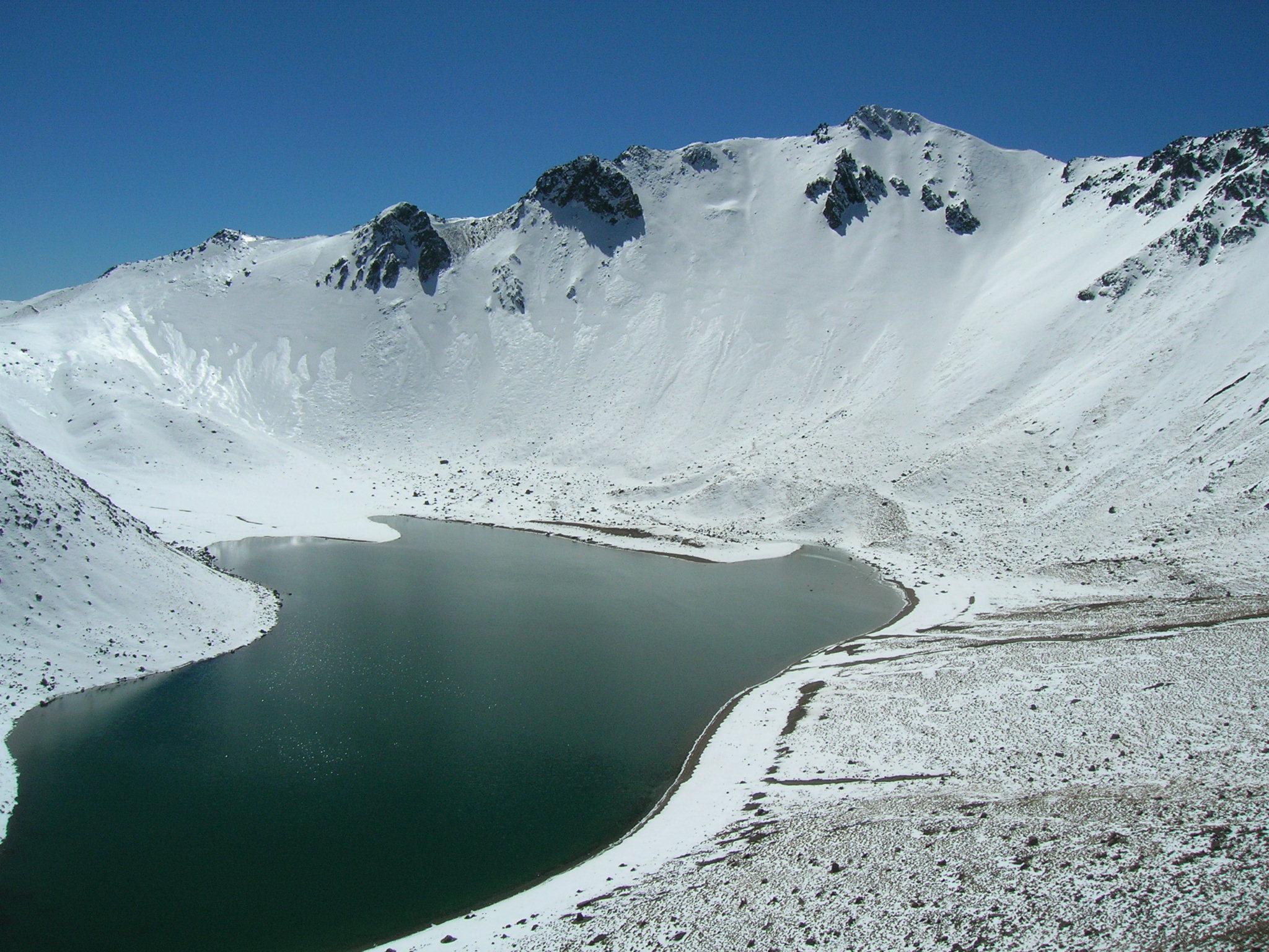 Place Of The Week Nevado De Toluca Technology Hiker