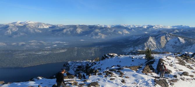 Climbing Tahoe's Mt Tallac SE Chute