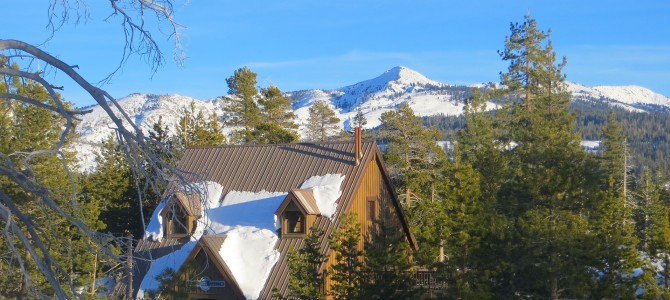 Family Winter Backcountry Adventure: Loon Lake Chalet, a USFS Cabin