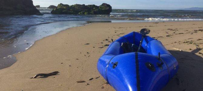 Packrafting Pescadero Creek
