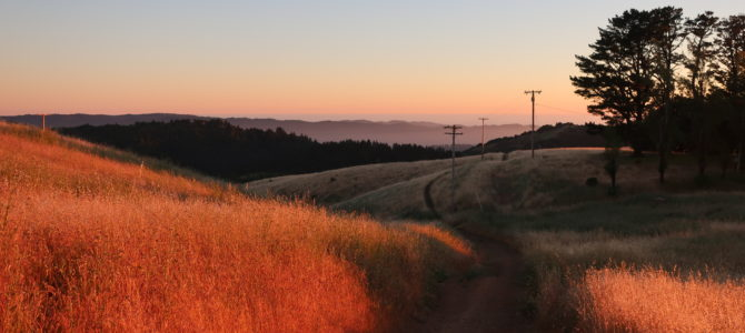 Monte Bello Backpacking with Kids above the Clouds