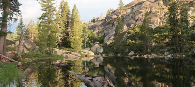 Backpacking with Kids to Camp Lake in Emigrant Wilderness