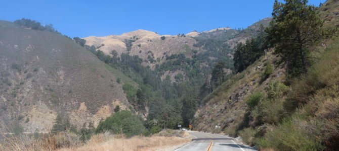 Cycling & Hiking Big Sur along CA 1 without Cars